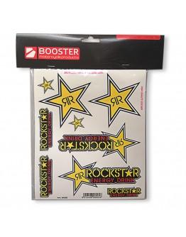 Booster Σετ Αυτοκόλλητα Rockstar
