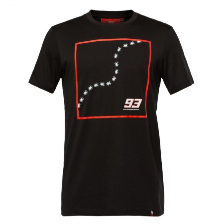 T-Shirt Marc Marquez Ants Row Black