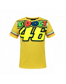 Valentino Rossi The Doctor 46 T-Shirt Yellow