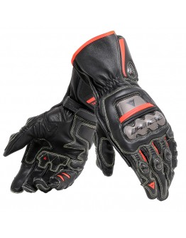 Dainese Full Metal 6 Gloves Black/Fluo-Red