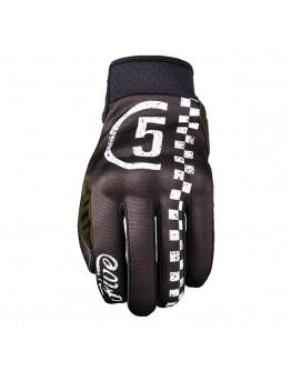 Five Globe Replica Racer Gloves Black