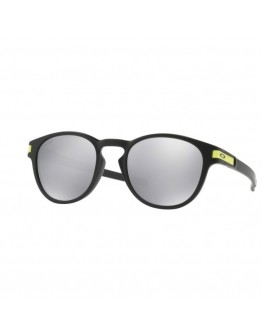Oakley Latch VR46 Matte Black Chrome Iridium
