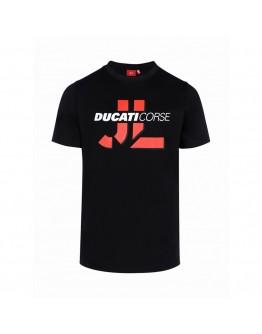 T-shirt Jorge Lorenzo JL Ducati Corse Black