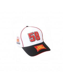 Καπέλο Marco Simoncelli 58 San Carlo