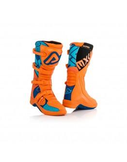 Acerbis Μπότες X-Team Orange/Blue