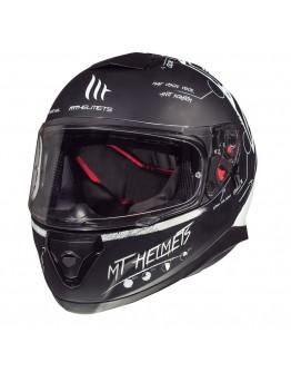 MT Thunder 3 SV Board Matt Black/White