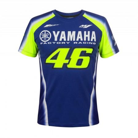 T-Shirt Yamaha VR46 Blue