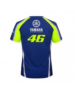 T-Shirt Yamaha VR46 Blue