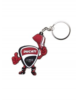 Μπρελόκ Ducati Desmo Logo Cartoon