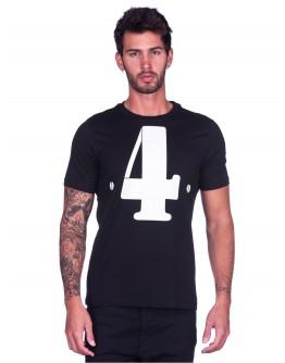 T-shirt Ducati Cucciolo History Black