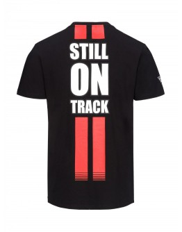 T-Shirt Still On Track Marco Simoncelli Black